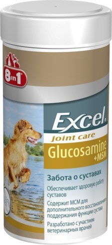 8in1 Excel Глюкозамин c MCM 55 таб.