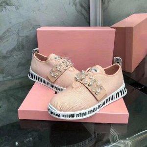Лоферы/ мягкие кроссовки MiuMiu