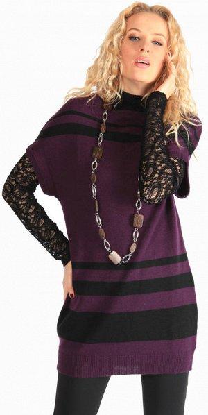 Вязаное платье (можно как тунику) р 48-50