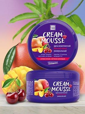 ЦА Крым Безсульфатные шампуни💖+эфирные масла! — Натуральные питательные кремы «Cream Mousse» — Для тела