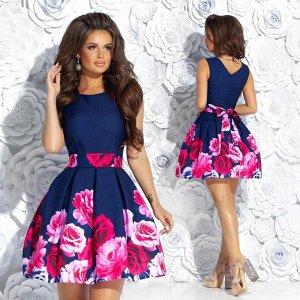Платье с розами   Artиshok