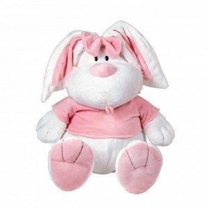 Кролик БЕЛЫЙ сидячий, 23см