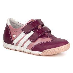 Кожаные  кроссовки для девочки р30, фото