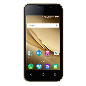 Смартфон BQ 4072 Strike Mini, 3G, 8Gb + 1Gb Gold Brushed