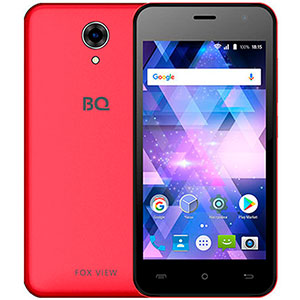 Смартфон BQ 4585 Fox View, 3G, 8Gb + 1Gb Red
