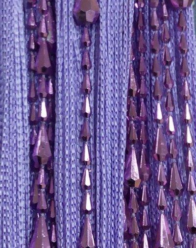 Нитяные шторы - Кисея! Огромный выбор, оптовая цена — Кисея Грани плотная — Шторы