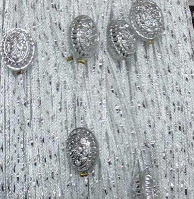 Нитяные шторы - Кисея! Огромный выбор, оптовая цена — Кисея Дождь с овалом — Шторы