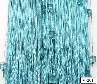 Нитяные шторы - Кисея! Огромный выбор, оптовая цена — Кисея однотонная с кубиками плотная — Шторы
