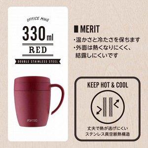 Вакуумная термокружка для напитков WAHEI FREIZ RH1290-RH1291