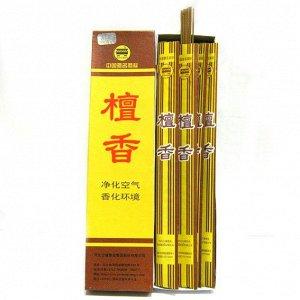 Благовония китайские безосновные 30см тонкие в пакетиках Сандал