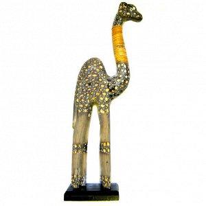 Верблюд статуэтка 50х14см, дерево