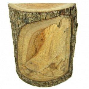Панно - сувенир Арована 19х17см, дерево