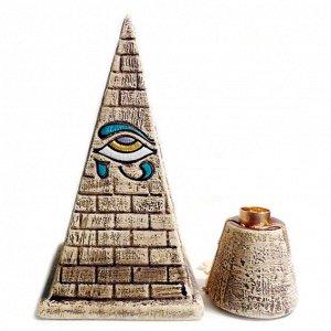 Пирамида энергетическая Голода большая П-03, керамика 17см