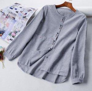 Рубашка женская лён, р.42-44