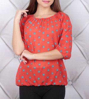 Легкая блузка р 46