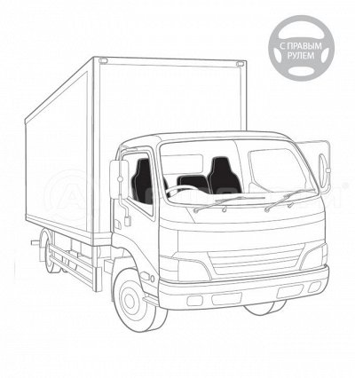 AUTOPROFI, EIKOSHA...-бери лучшее со страниц авто журналов!  — Чехлы для японских грузовиков (правый руль) — Авточехлы