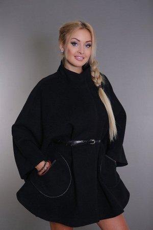 Пальто женское демисезонное 17501  (черный)
