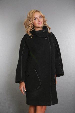 Пальто женское демисезонное 16307-000   (черный)
