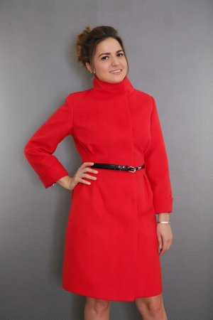 Пальто 15102-890 (красный)