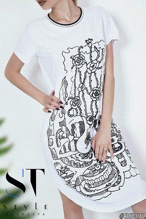 Платье 35072