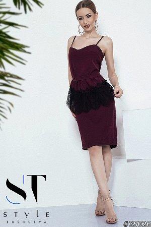 Платье 35026