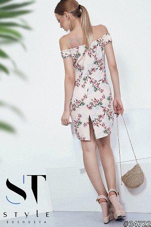 Силуэтное платье 34722