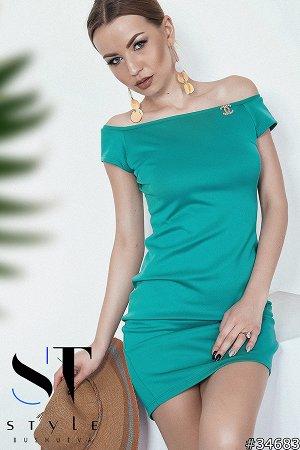 Силуэтное платье 34683