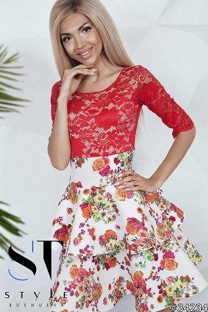 Платье 34234