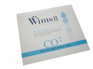 KR/ WIMS8 Polymer Mask Pack CO2 Карбокситерапия лица (Туба с гелем + 5 маска)