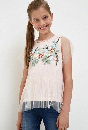 Блузка детская для девочек Kristy светло-розовый