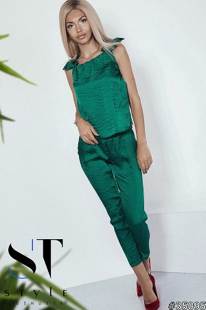 Костюм 35095 (блузка+брюки)
