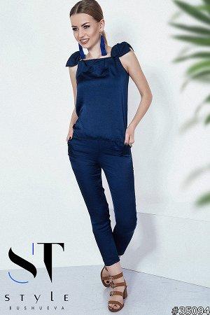 Костюм 35094 (блузка+брюки)