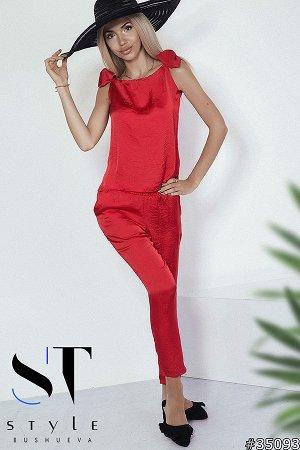 Костюм 35093 (блузка+брюки)