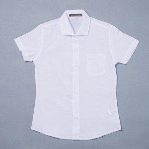 Рубашка на мальчика однотонная