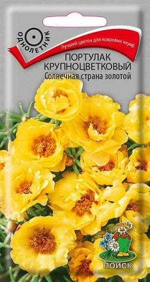 Портулак крупноцветковый Солнечная страна золотой ЦП