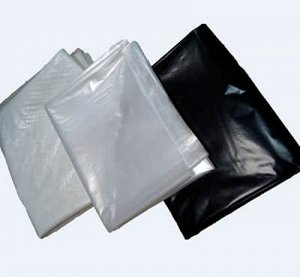 Плёнка Черная полиэтиленовая 100 мкр - (6х10 м)