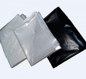 Плёнка Черная полиэтиленовая 150 мкр - (6х5 м)