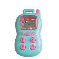 Погремушка Бусинка пищалка Телефон 8002