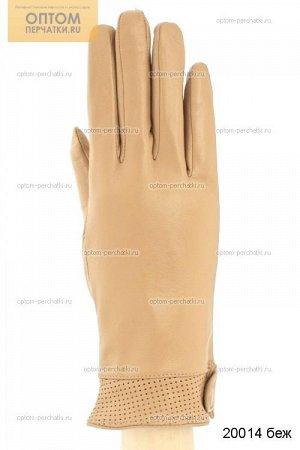 Перчатки женские кожаные цветные