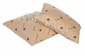 Подушка Верблюжья шерсть - Тик 100% хлопок