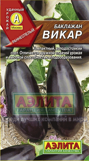 Баклажан Викар/Аэлита/цп