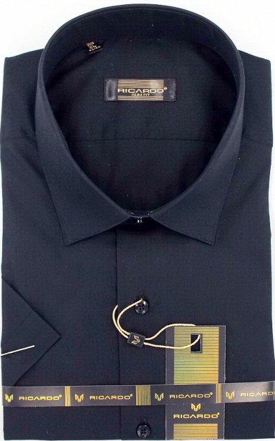RICARDO. Рубашки. Мужчинам тоже нужна красота — Рост 188-200 Силуэт классическая короткий рукав