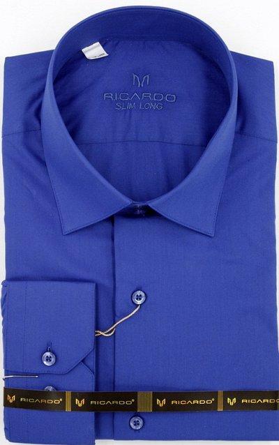 RICARDO. Рубашки. Мужчинам тоже нужна красота — Рост 182-188 Силуэт приталенная длинный рукав