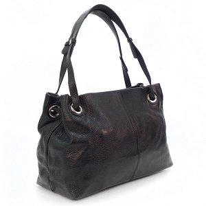 Женская сумка Borgo Antico. Кожа. 5087 black