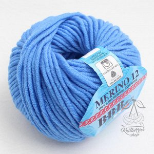 MERINO 12 (6664) ярко-голубой