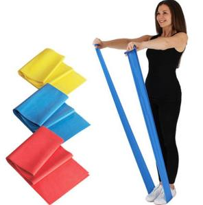 Эластичная лента для пилатеса и йоги