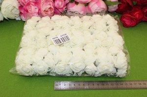 Роза фоамиран,25-30мм, упак.144шт (24 бук. по 6шт) В наличии