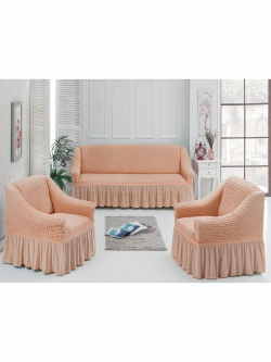 Чехол для мебели 3 предм, оранжевый