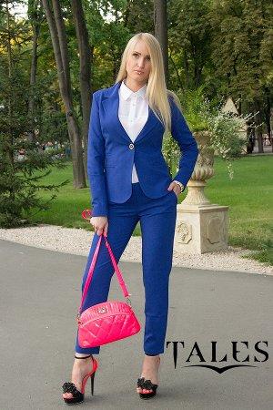 Костюм женский брючный Classic_blue