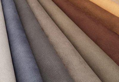 Обивка №29💎 Мебельные ткани и Кожзам (+комплектующие) — Мебельная ткань SEASON <Имитация замши> (Микрофибра) — Столы и тумбы